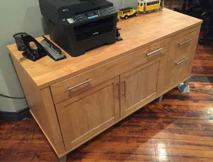 audio conexus desk drawers