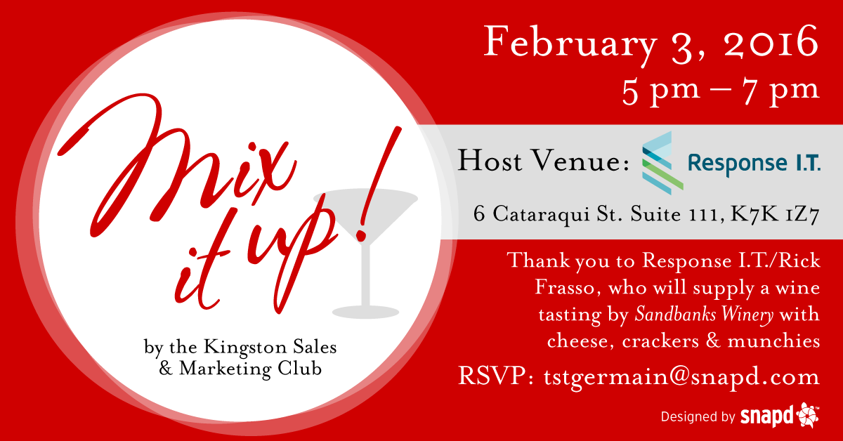 snapd wine tasting Kingston sales marketing group